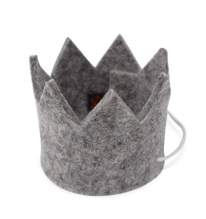 MODERN BEAST | Party Beast Crown in Charcoal Grey