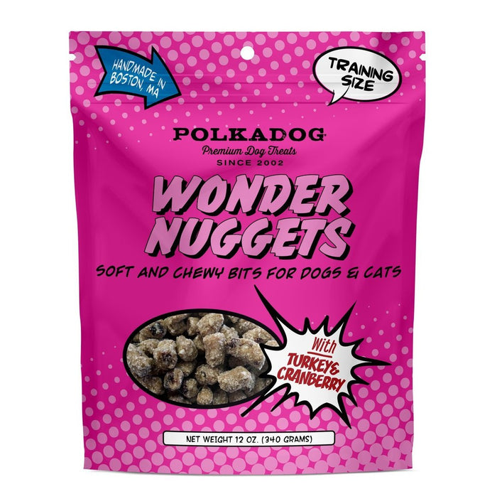 POLKA DOG BAKERY | Wonder Nuggets in Turkey Cranberry (For Dogs & Cats)