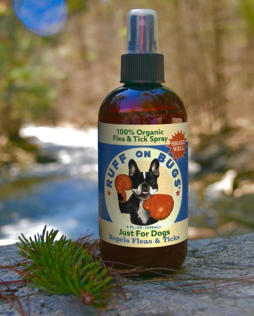 RUFF ON BUGS | Organic Flea + Tick Repellent Spray