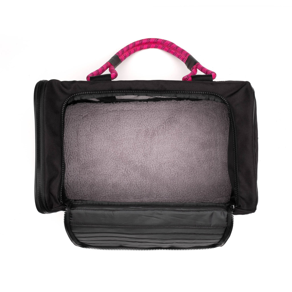 Out Of Office Dog Carrier in Magenta (Drop-Ship)
