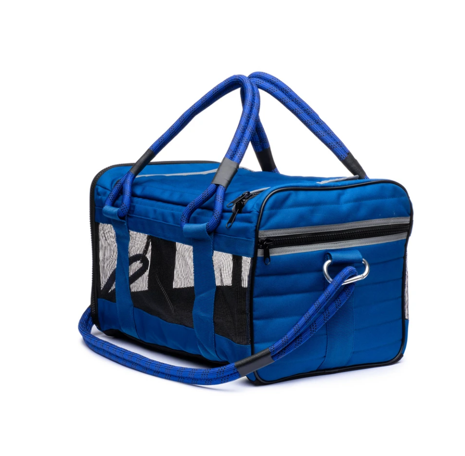 Out Of Office Dog Carrier in Blue