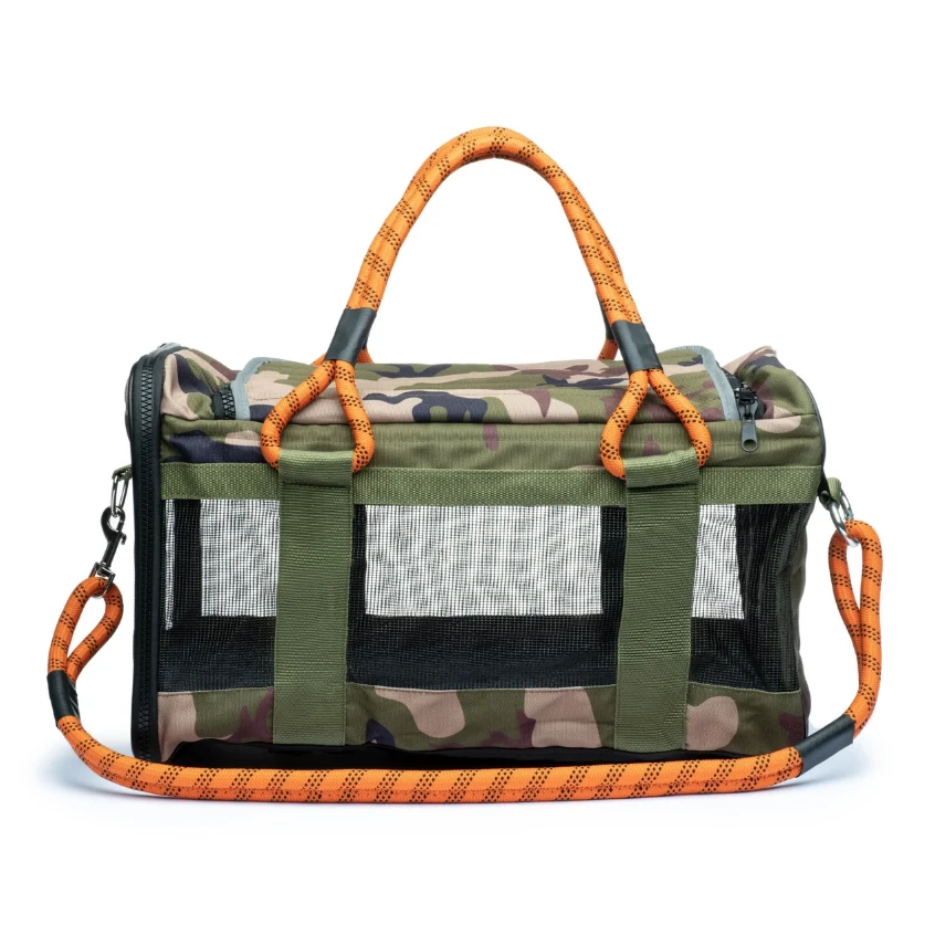 Out Of Office Dog Carrier in Camo