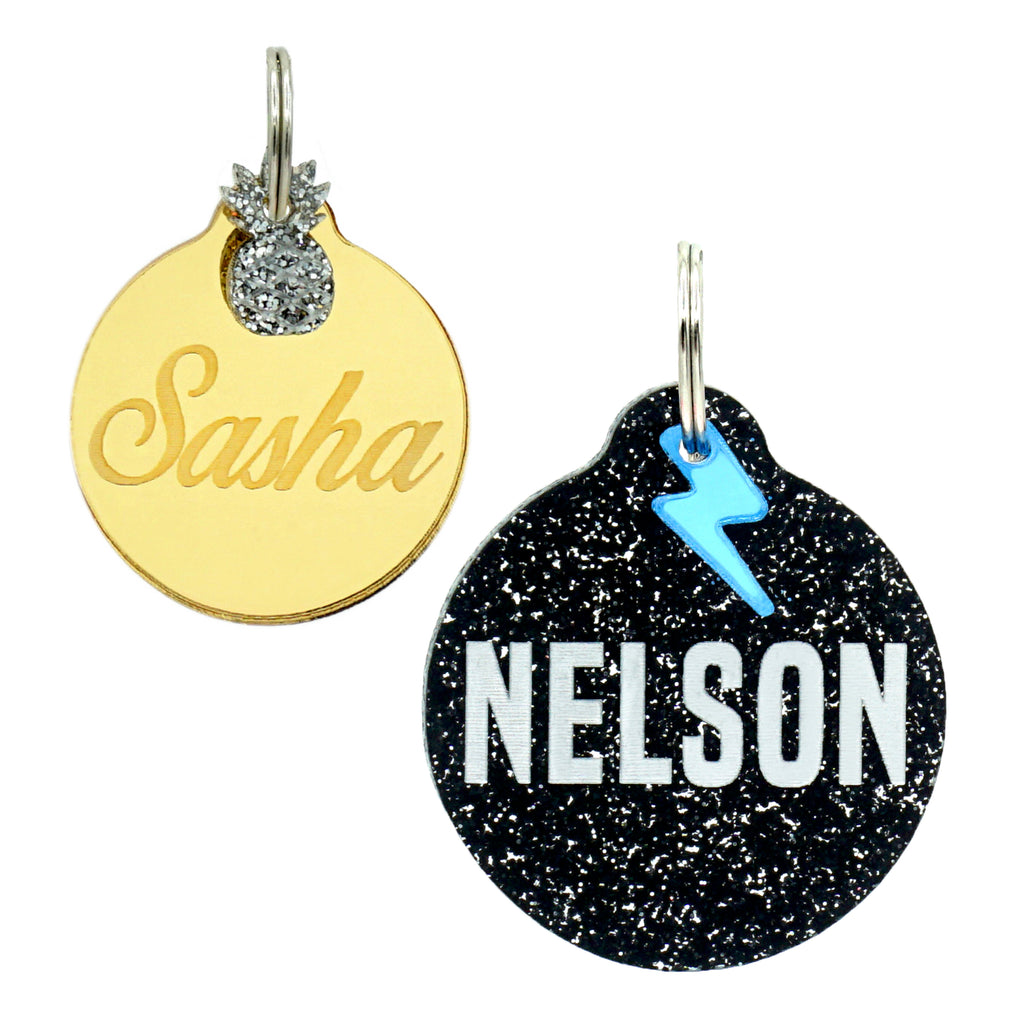 Double-Sided Custom ID Tags