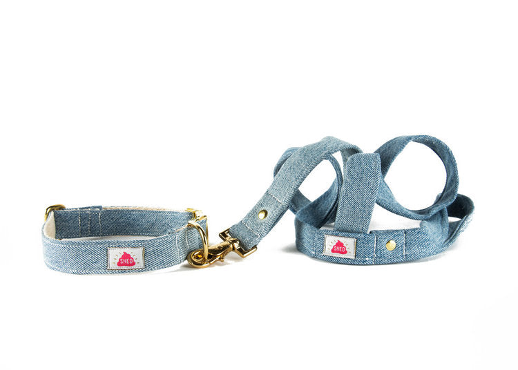 SHED | Mom Jeans Collar in Light Wash