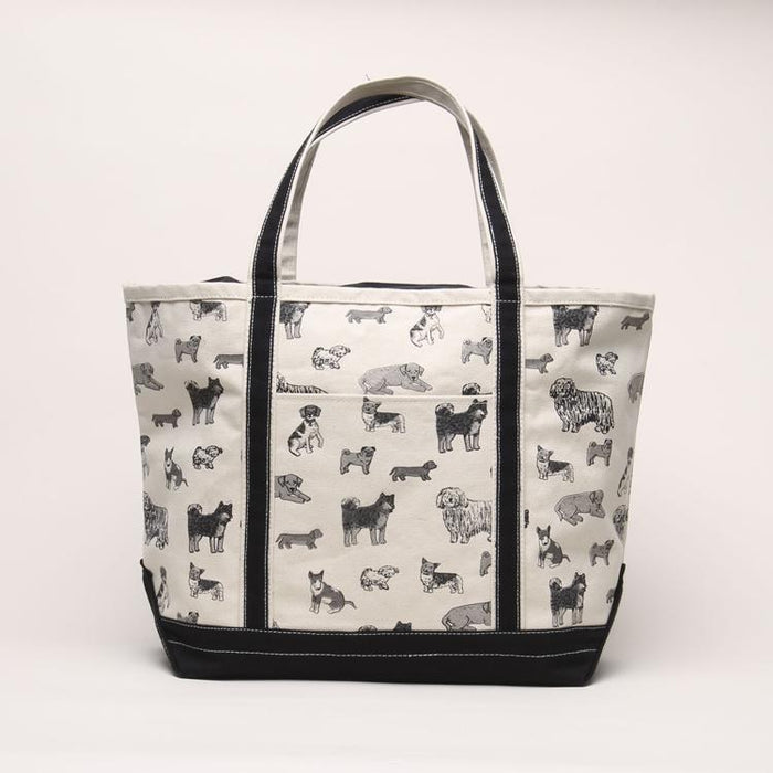 SHORE BAGS | Dog Print Tote