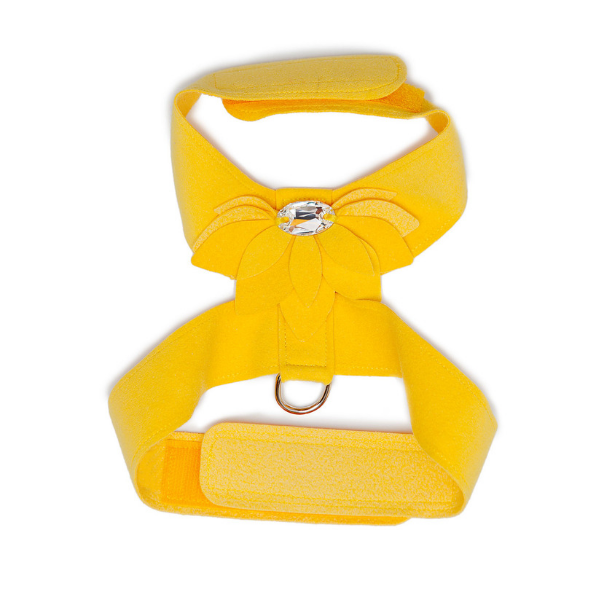 SUSAN LANCI | Water Lily Swarovski Harness in Sunshine Yellow