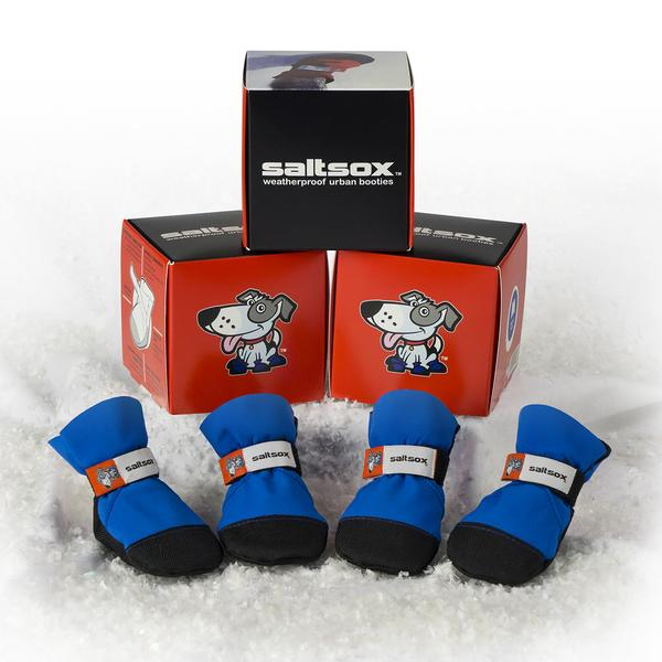 SALTSOX | Booties in Blizzard Black