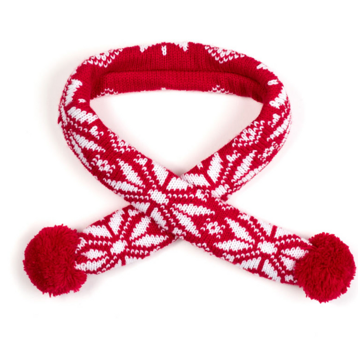 WORTHY DOG | Ski Lodge Scarf in Red
