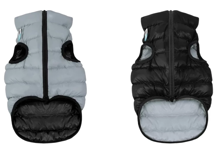 Reversible AiryVest in Black and Grey (FINAL SALE)