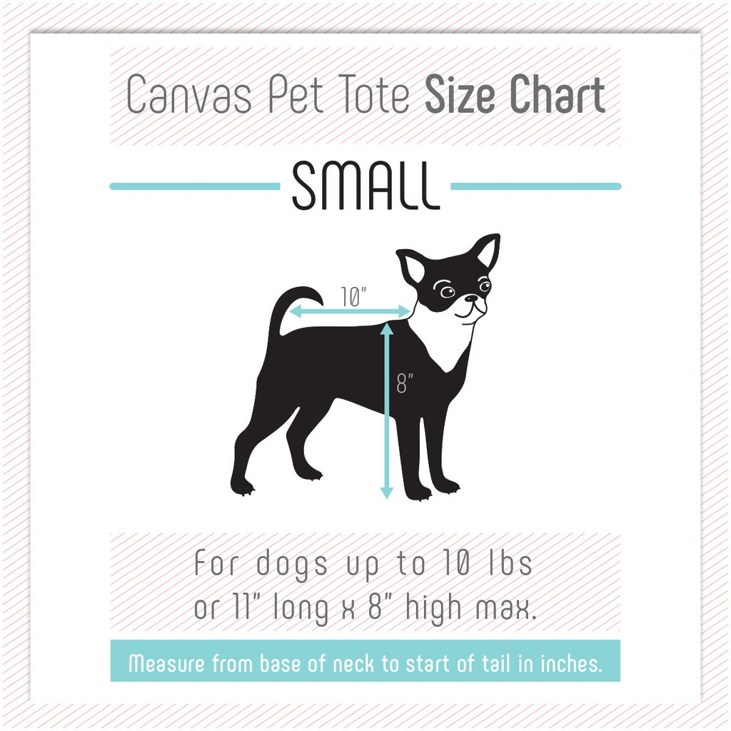 LOVE THY BEAST | Canvas Pet Tote in Black