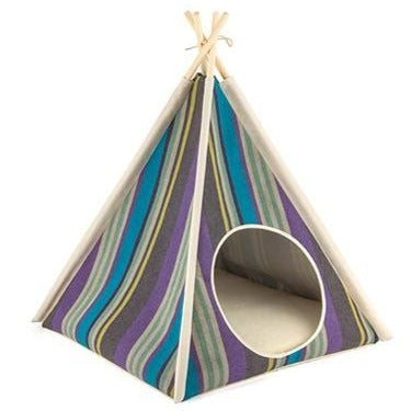 Striped TeePee in Lake (Drop-Ship)