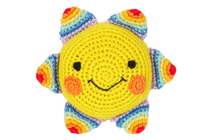 LUNA BLUE | Sunshine Rainbow Squeaky Toy