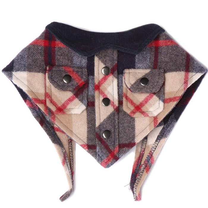 TAIL TRENDS | Lumberjack Bandana in Buffalo Check