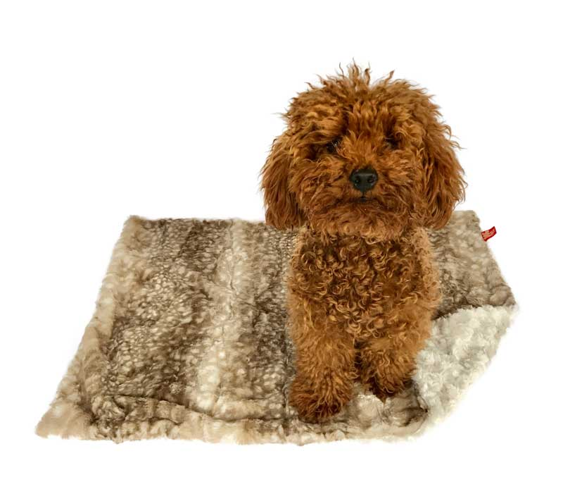 THE DOG SQUAD | Fawn Minkie Blanket