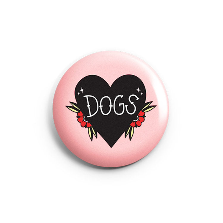 Dogs Button