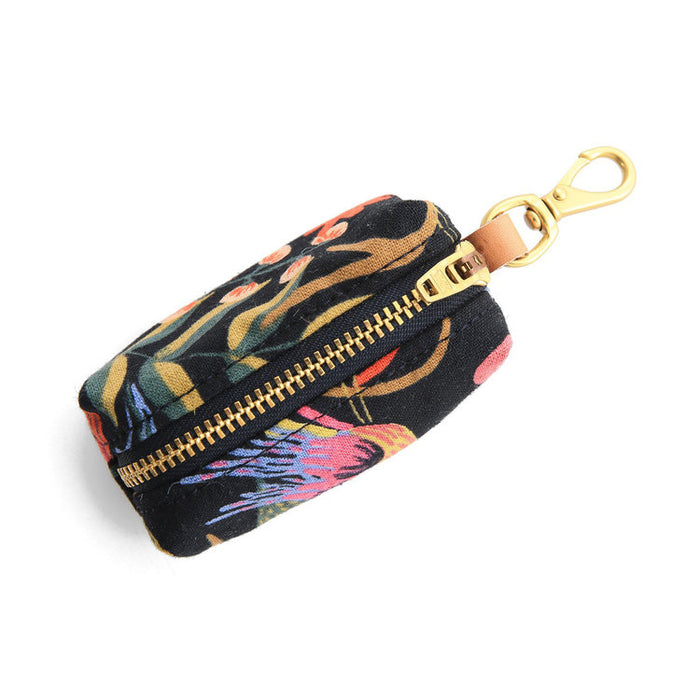 THE FOGGY DOG | Rifle Paper Co. Boho Birds Midnight Leash Bag