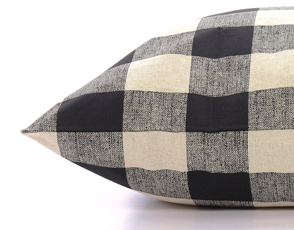 THE FOGGY DOG | Buffalo Plaid Dog Bed Cover