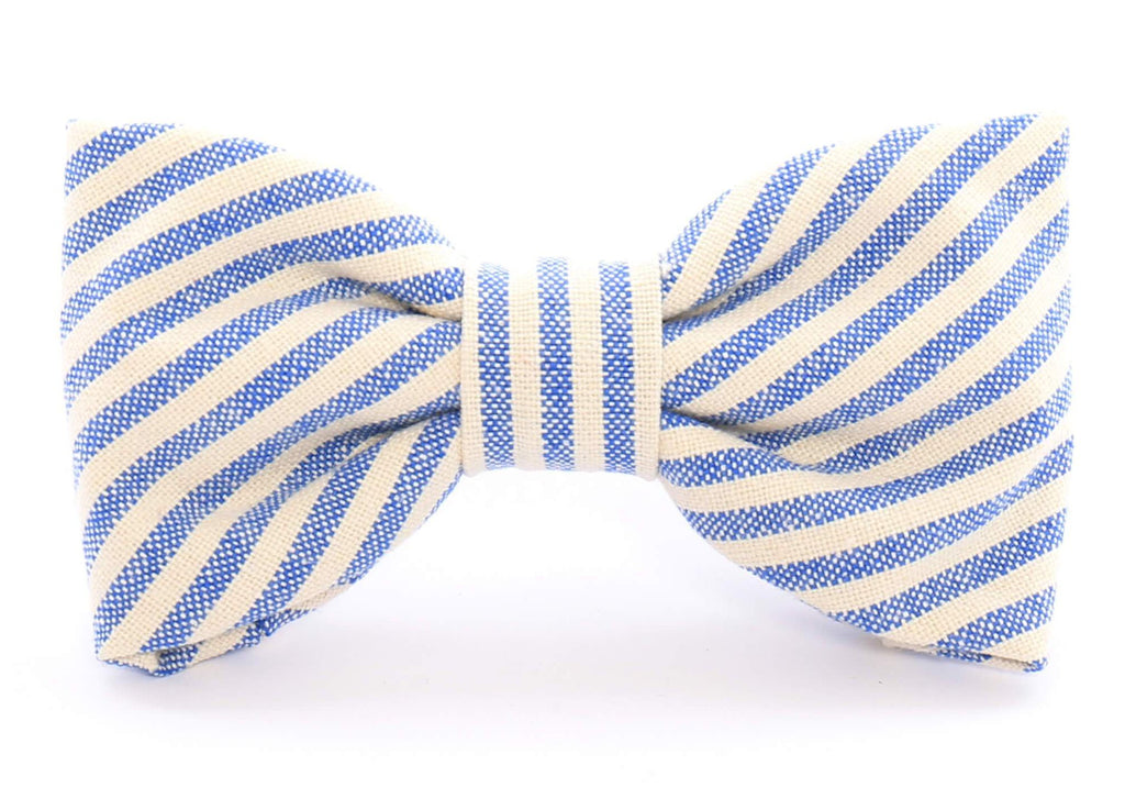 THE FOGGY DOG | French Stripe Bow Tie