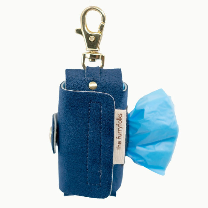 THE FURRYFOLKS | Daily Poop Bag Holder in Navy