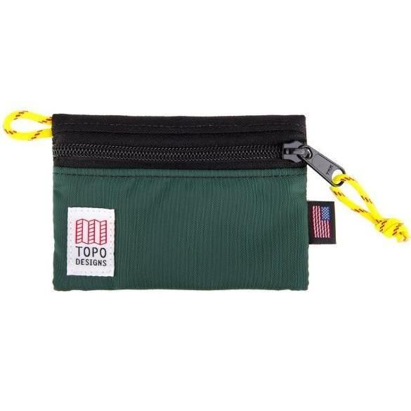 TOPO DESIGNS | Micro Accessory Bag in Black/Forest