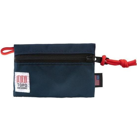 TOPO DESIGNS | Micro Accessory Bag in Navy/Red