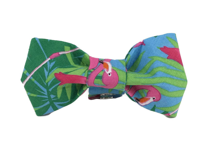 TRISH HAMPTON | Flamingo Bow Tie
