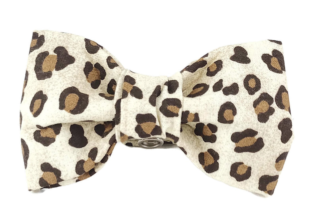 TRISH HAMPTON | Leopard Bow Tie