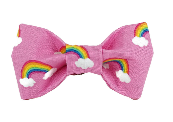 TRISH HAMPTON | Rainbow Bow Tie