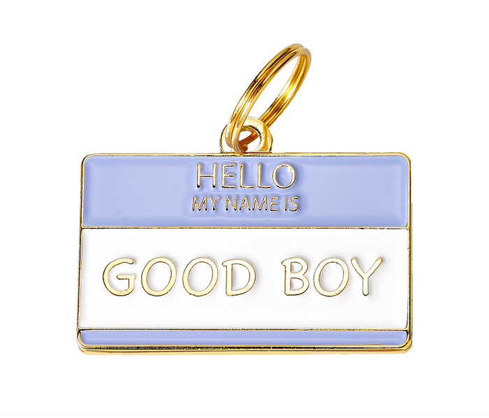 TWO TAILS PET COMPANY | Good Boy ID Tag (custom)