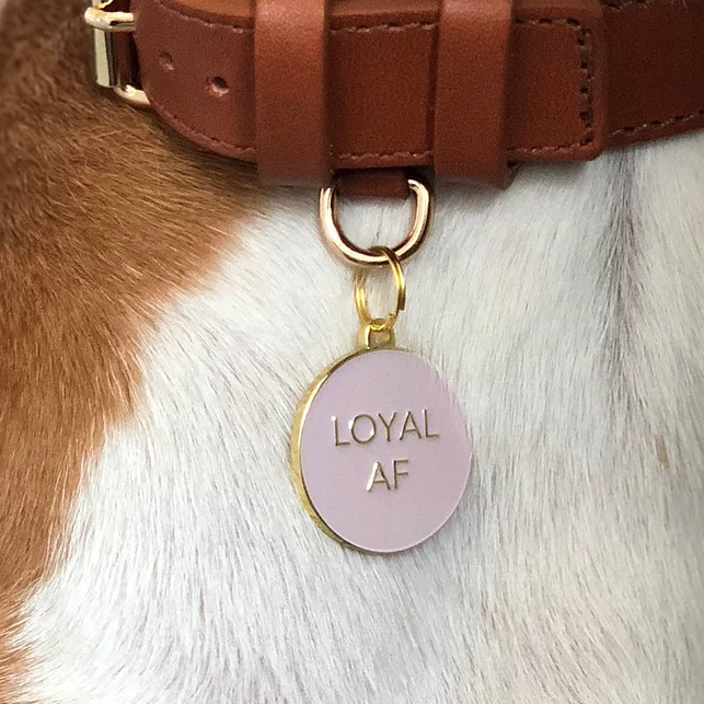Loyal AF ID Tag (Custom/Drop-Ship)