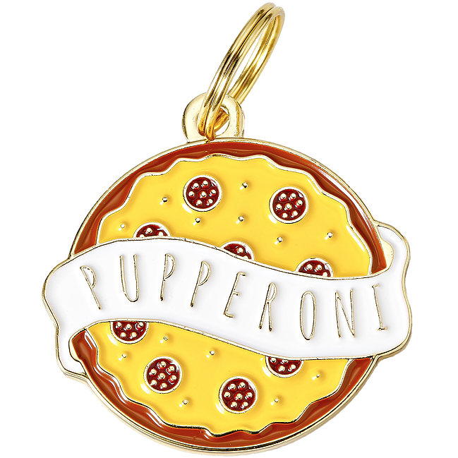 TWO TAILS PET COMPANY | Pupperoni ID Tag