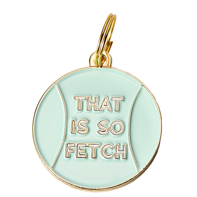 TWO TAILS PET COMPANY | That is so Fetch ID Tag (custom)
