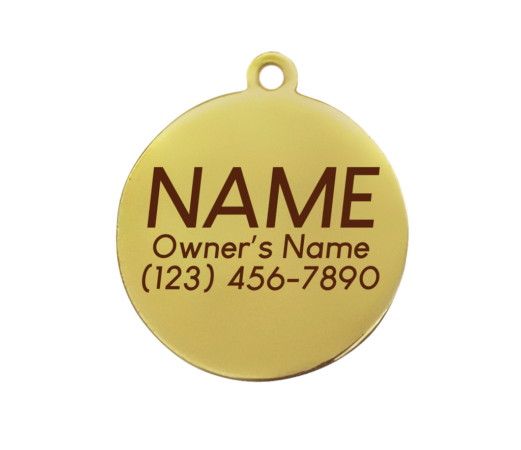 Zodiac ID Tag (Custom/Drop-Ship)