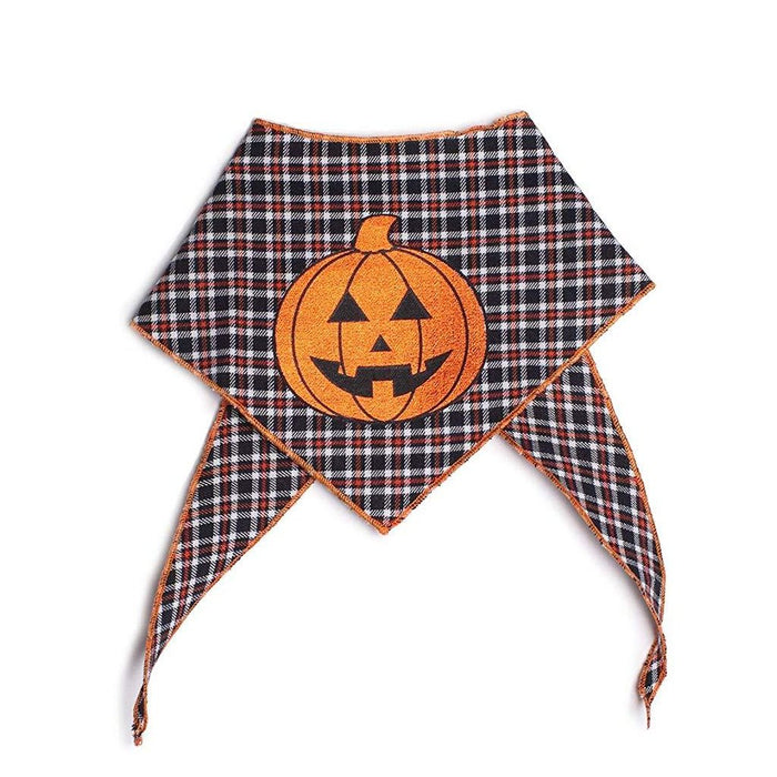 TAIL TRENDS | Pumpkin Foil Bandana