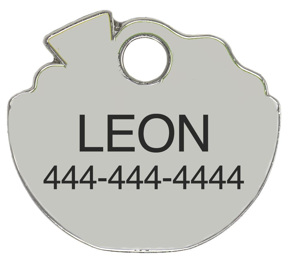 I Know I'm Extra Custom Pet Tag (Custom/Drop-Ship)