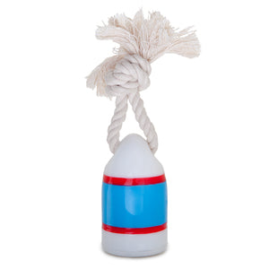 WAGGO | Floats My Boat Buoy Dog Toy in Red and Blue
