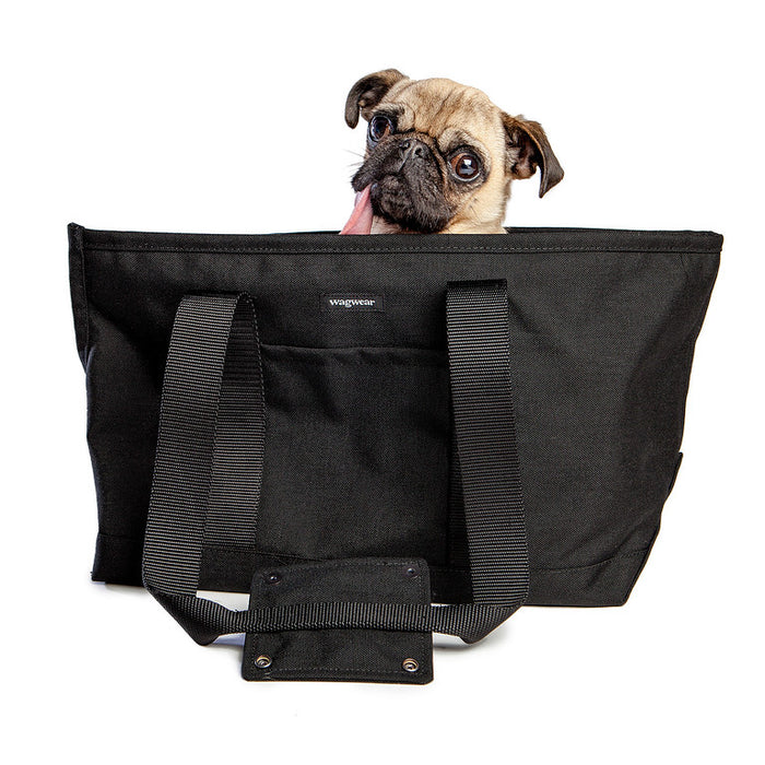 WAGWEAR | Cordura Zipper Tote in Black