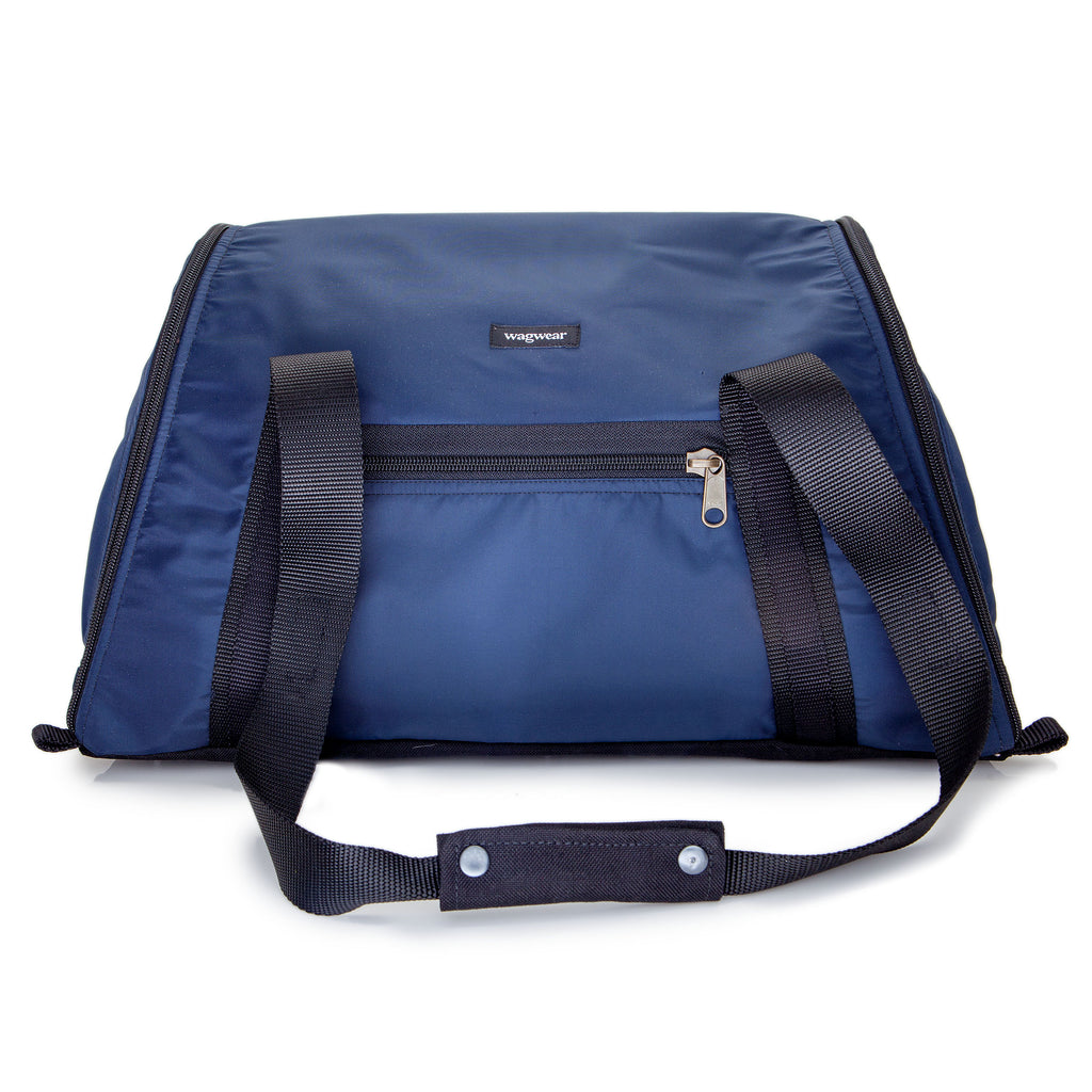 Cotton Ripstop Airline Carrier in Navy (DOG & CO. Exclusive)