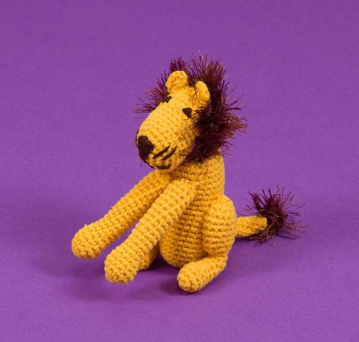 WARE of the DOG | Hand Crochet Lion Toy