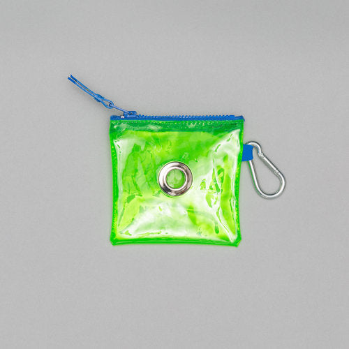 WARE of the DOG I Neon Green Vinyl Pouch