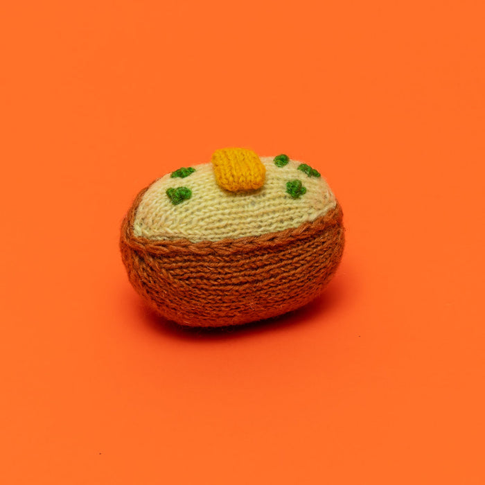 WARE of the DOG | Cotton Crochet Baked Potato Toy