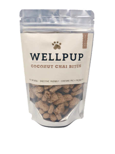 WELLPUP | Probiotic Treats in Coconut Chai