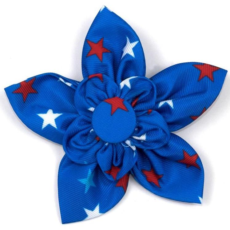 THE WORTHY DOG | Patriotic Stars Flower