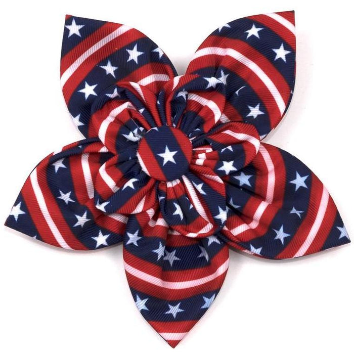THE WORTHY DOG | Stars and Stripes Flower