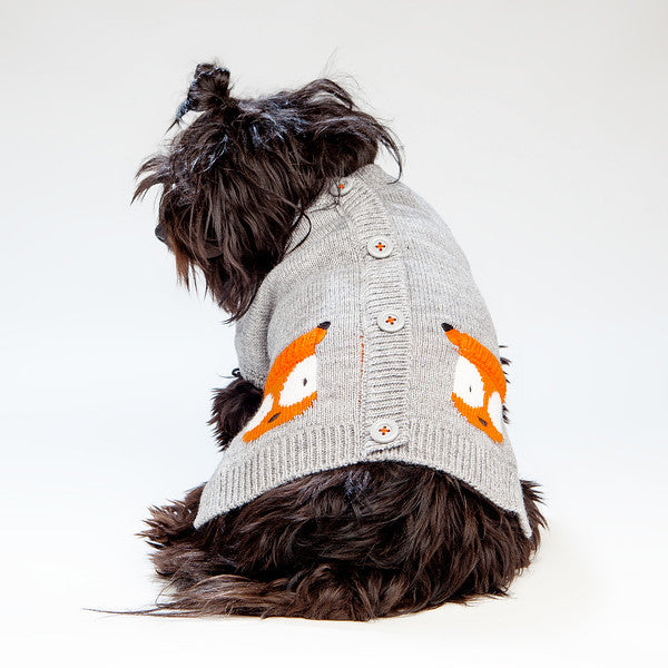WORTHY DOG | Fox Cardigan