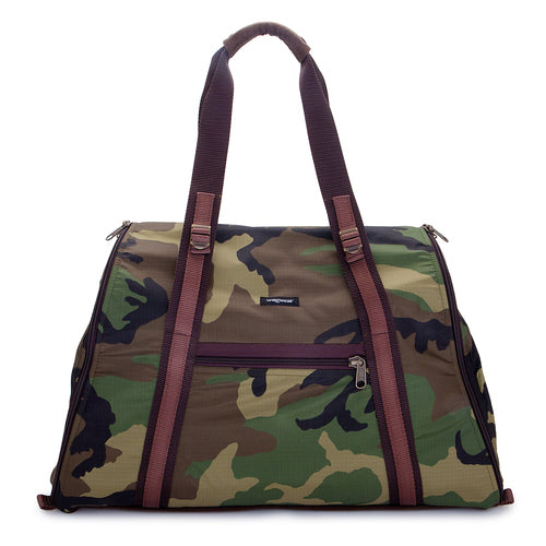 WAGWEAR | Cotton Ripstop Airline Carrier in Camo