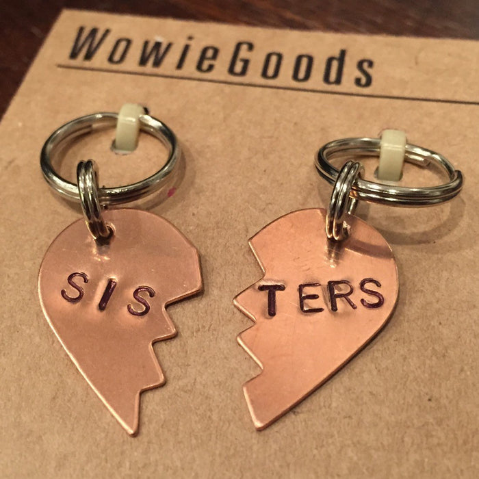 WOWIE GOODS | Small Sisters Tag Set in Copper