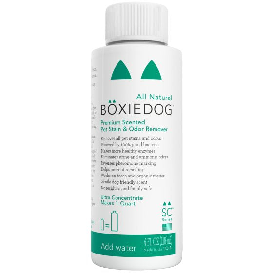 BOXIEDOG | Premium Lightly Scented Stain & Odor Remover (Ultra Concentrate)