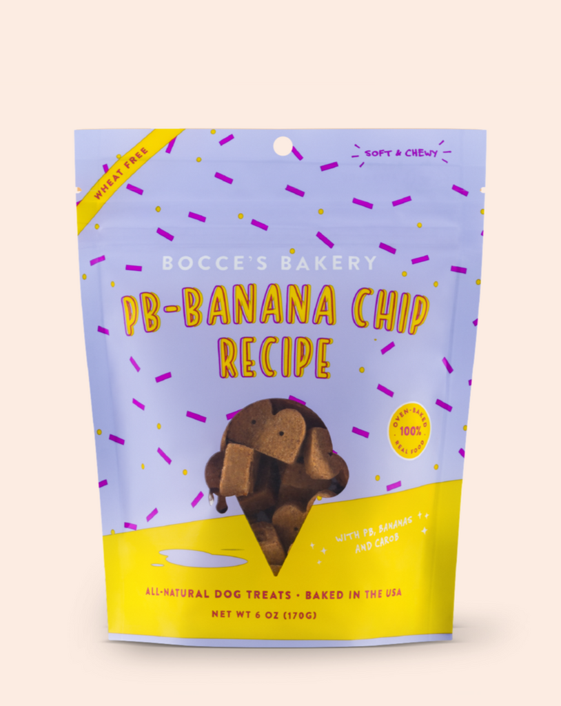 PB & Banana Chip Soft & Chewy Dog Treats