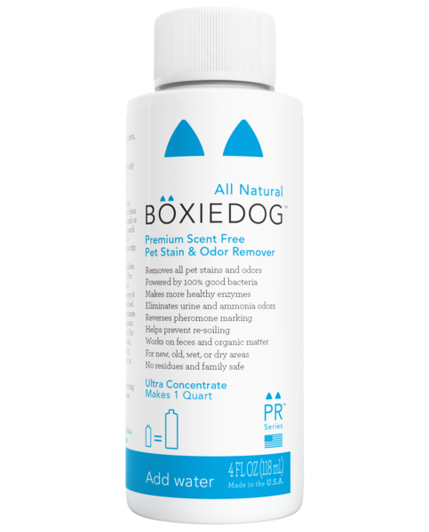 BOXIEDOG | Premium Scent-free Stain & Odor Remover (Ultra Concentrate)
